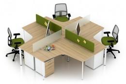 #20 Mẫu Thiết kế Văn phòng 80m2 theo Phong cách Hiện Đại