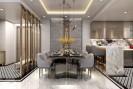 Thiết kế nội thất chung cư 120m2 3 phòng ngủ thu hút mọi ánh nhìn