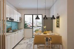 Thiết kế nội thất chung cư 96m2 theo phong cách hiện đại bắt mắt