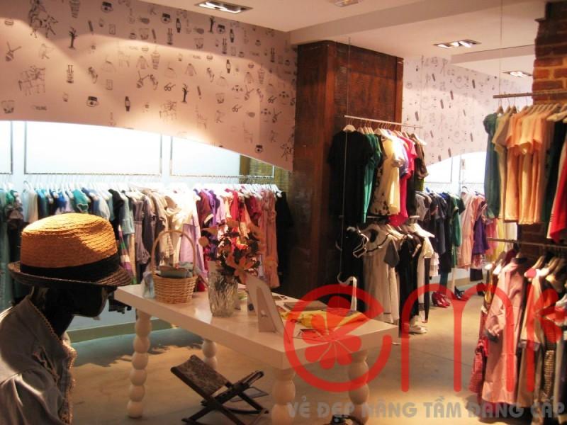 Mở cửa hàng kinh doanh Shop nên trang trí tường thế nào
