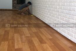 Thảm PVC vân gỗ
